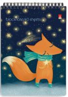 Блокнот Альт Волшебные лисы / 3-40-250 (40л, клетка) -