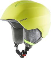 Шлем горнолыжный Alpina Sports 2020-21 Grand Jr / A9224-40 (р-р 51-54, неоновый желтый) -
