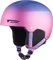 Шлем горнолыжный Alpina Sports 2020-21 Zupo Flip-Flop / A9225-61 (р-р 48-52, матовый фиолетовый) -