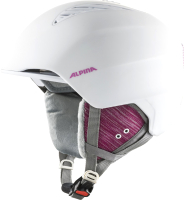 Шлем горнолыжный Alpina Sports 2020-21 Grand / A9226-13 (р-р 54-57, белый/Rose Matt) -