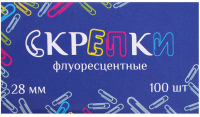 Скрепки No Brand Бугинком / 218 (100шт) -