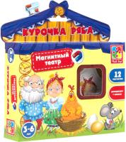 Кукольный театр Vladi Toys Магнитный театр. Курочка Ряба / VT3206-12 -