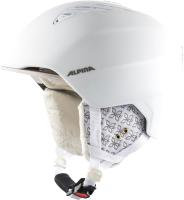 Шлем горнолыжный Alpina Sports 2020-21 Grand / A9226-12 (р-р 54-57, белый/Prosecco Matt) -