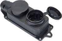 Розетка переносная КС Турига 230В 2P+PE 16A IP44 / 74808 -