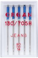 Иглы для швейной машины Organ 5/90 (джинсовые) -