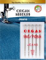 Иглы для швейной машины Organ 5/100 (джинсовые) -