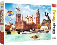 Пазл Trefl Funny Cities. Собаки в Лондоне / 10596 (1000эл) -