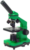 Микроскоп оптический Микромед Эврика 40х-400х в кейсе / 25447 (лайм) -