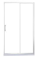 Стеклянная шторка для ванны REA Slide Pro 120 / REA-K5305 -