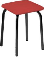 Табурет UTFC Квадратный BL (Z29/красный) -