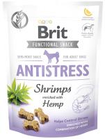 Лакомство для собак Brit Dog Functional Snack Antiparasitic с креветками / 111422 (150г) -