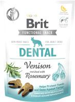 Лакомство для собак Brit Dog Functional Snack Dental с олениной / 111418 (150г) -