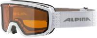 Маска горнолыжная Alpina Sports Scarabeo S DH / A72621-11 (белый) -