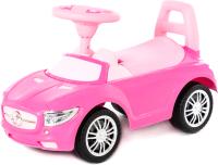Каталка детская Полесье SuperCar №1 / 84477 (розовый) -