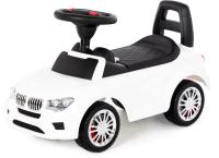 Каталка детская Полесье SuperCar №5 / 84538 (белый) -