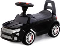 Каталка детская Полесье SuperCar №6 / 84613 (черный) -