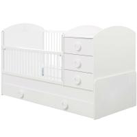 Детская кровать-трансформер Cilek Baby Cotton / 20.24.1015.00 (с выдвижным спальным местом) -