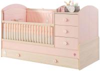 Детская кровать-трансформер Cilek Baby Girl / 20.42.1015.00 -