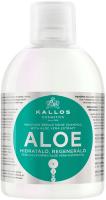 Шампунь для волос Kallos KJMN увлажн. д/восстан. блеска сухих поврежд. волос с алоэ вера (1л) -
