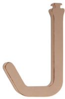 Крючок для рейлинга Boyard SRH121/CHMP (шампань) -