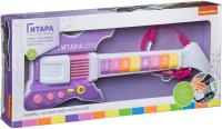 Музыкальная игрушка Bondibon Электрогитара с микрофоном / ВВ4396 -