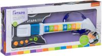 Музыкальная игрушка Bondibon Электрогитара с микрофоном / ВВ4397 -