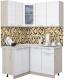 Готовая кухня Интерлиния Мила 12x14 (вудлайн кремовый) -