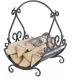 Дровница для камина Везувий Кованая D130B -