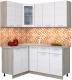 Готовая кухня Интерлиния Мила 12x17 (вудлайн кремовый) -
