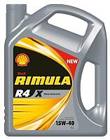 Моторное масло Shell Rimula R4X 15W40 (4л) -
