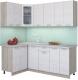 Готовая кухня Интерлиния Мила 12x20 (вудлайн кремовый) -