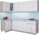 Готовая кухня Интерлиния Мила 12x24 (вудлайн кремовый) -