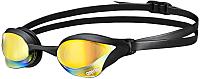 Очки для плавания ARENA Cobra Core Mirror 1E492 53 (желтый revo/черный) -