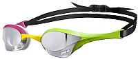 Очки для плавания ARENA Cobra Ultra Mirror 1E032 569 (серебристый/зеленый/розовый) -