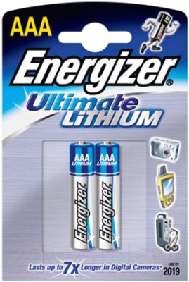 Комплект батареек Energizer Ultim Lith FR03 (2 шт)
