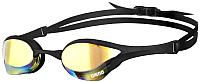 Очки для плавания ARENA Cobra Ultra Mirror 1E032 55 (Yellow revo/Black/Black) -