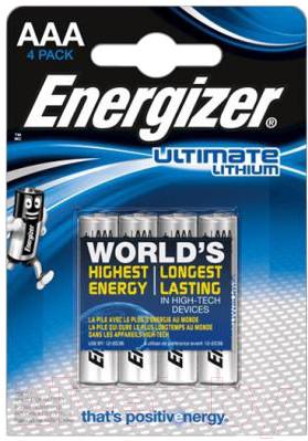 Комплект батареек Energizer Ultim Lith FR03 (4 шт.)