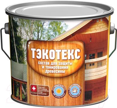 Защитно-декоративный состав Тэкотекс Золотой дуб (2.1кг)