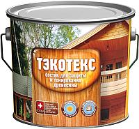Защитно-декоративный состав Тэкотекс Махагон (7.6кг) -