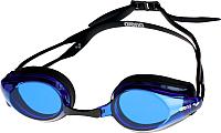 Очки для плавания ARENA Tracks 92341 57 (Black/Blue/Black) -