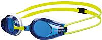 Очки для плавания ARENA Tracks / 92341 67 (White/Blue/Green) -