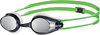Очки для плавания ARENA Tracks Mirror 92370 66 (White/Smoke/Green) -