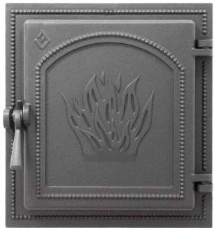 Дверца печная Везувий 271 (антрацит)