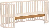 Опорная планка для кроватки Polini Kids Simple 910 (бук) -