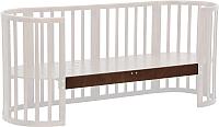 Опорная планка для кроватки Polini Kids Simple 910 (дуб) -