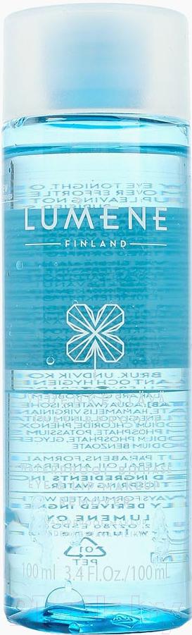 Купить Тоник для снятия макияжа Lumene, Vedenkestava двухфазный для водостойкого макияжа глаз и губ (100мл), Финляндия