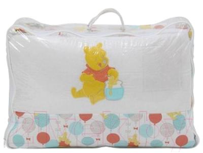 Комплект постельный в кроватку Polini Kids Disney Baby. Медвежонок Винни Чудесный день 7 (желтый)
