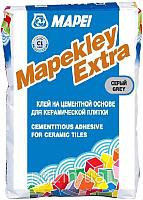 Клей для плитки Mapei Mapekley Extra (25кг, серый) -
