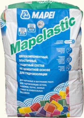 Гидроизоляция цементная Mapei Mapelastic Компонент A (24кг)