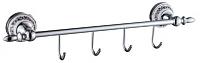 Планка для крючков Savol S-А006874 (хром) -